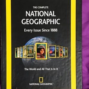 National Geographic disk set. 1888 through 2008.
